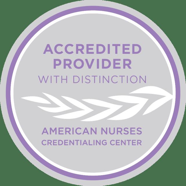 ANCC Accredited Distinction Logo